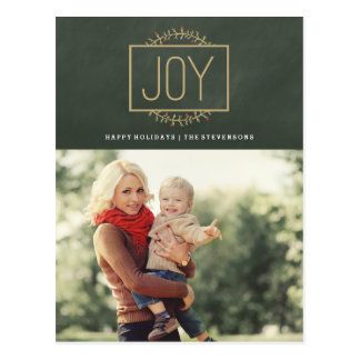 Joyful Holiday | Photo Postcard
