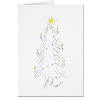 Joyful Holiday Tree Card