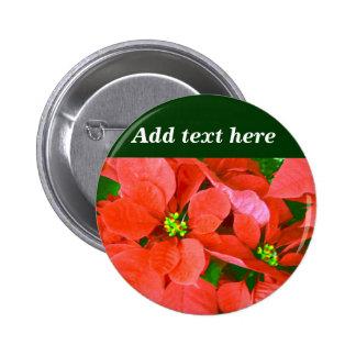 Joyful Holidays_ Pinback Buttons