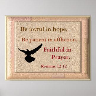 Joyful in Hope - Art print