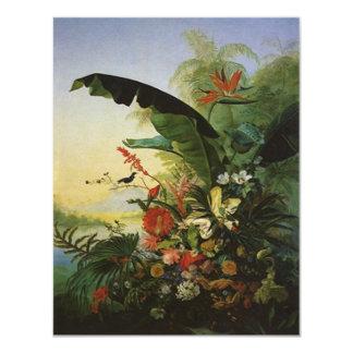 JOYFUL INVITE w/ BIRDS OF PARADISE ~EZ2 CUSTOMIZE