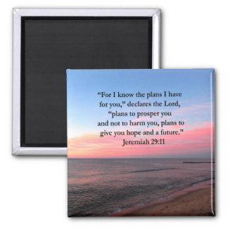 JOYFUL JEREMIAH 29:11 SUNRISE MAGNET