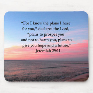 JOYFUL JEREMIAH 29:11 SUNRISE MOUSE PAD