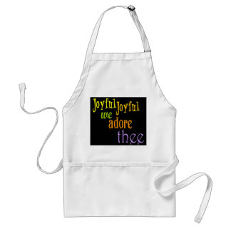 Joyful, Joyful Adult Apron