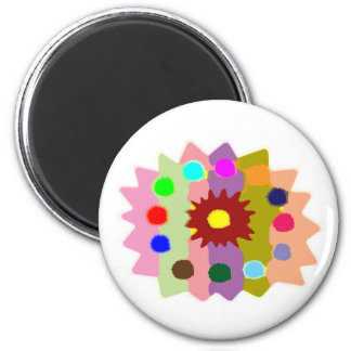 Joyful Kids Color Blasters n Sunflower Formations Refrigerator Magnet