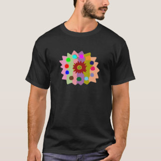 Joyful Kids Color Blasters n Sunflower Formations T-Shirt