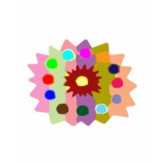 Joyful Kids Color Blasters n Sunflower Formations zazzle_shirt
