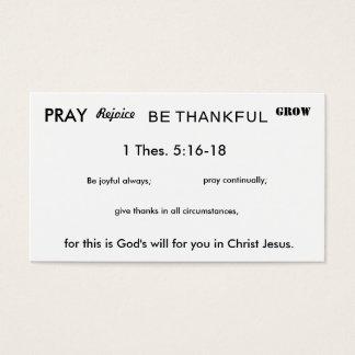 Joyful Living Business Card