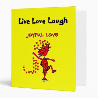 Joyful Love 3 Ring Binder