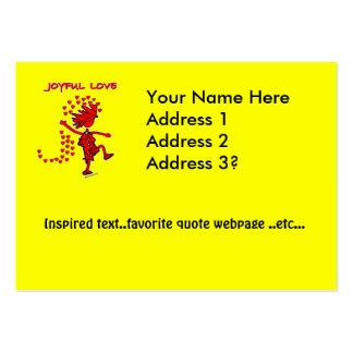 Joyful Love Business Card Template