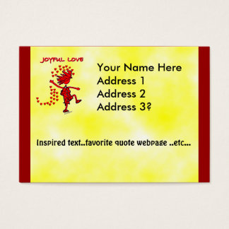 Joyful Love Business Card