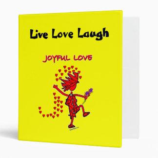 Joyful Love Forever 3 Ring Binder
