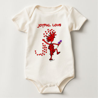 Joyful Love Forever Baby Bodysuit