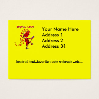 Joyful Love Forever Business Card