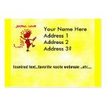 Joyful Love Forever Large Business Cards (Pack Of 100)