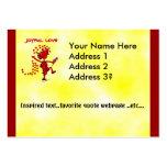 Joyful Love Forever Business Card Template