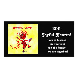 Joyful Love Forever Photo Card