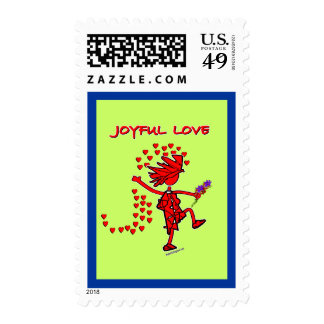 Joyful Love Forever Stamp
