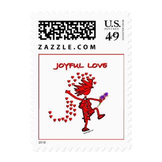 Joyful Love Forever Stamps