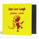 Joyful Love Forever Vinyl Binder
