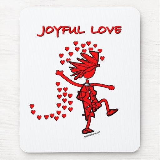 Joyful Love Mouse Pads