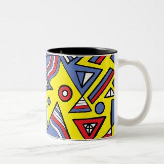 Joyful Manly Sleek Charming Two-Tone Coffee Mug