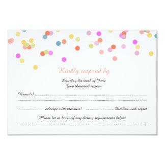 Joyful | Modern Wedding RSVP Cards