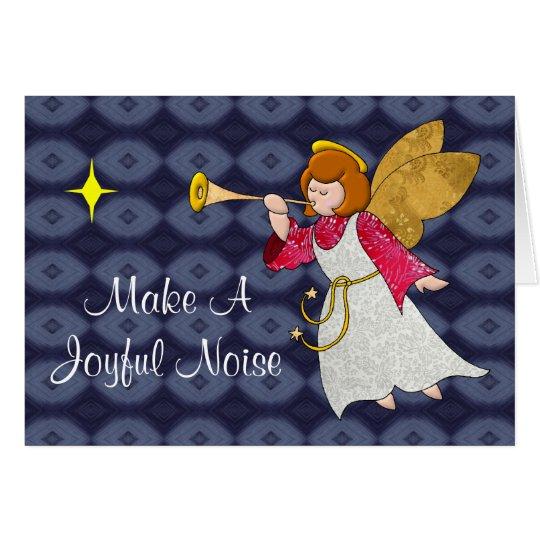 Joyful Noise Holiday Angel Card