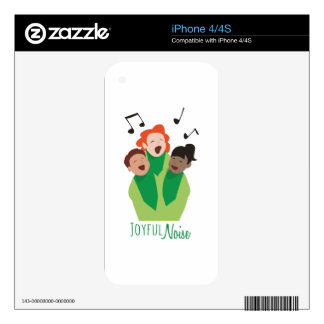 Joyful Noise Decals For The iPhone 4S
