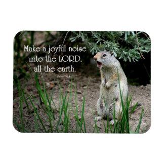 Joyful Noise Squirrel Magnet