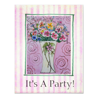 Joyful Praise party card  invitation