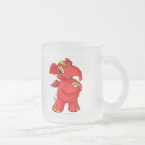 Joyful red Elephante mugs