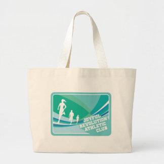 Joyful Revolution Athletic Club Tote Canvas Bags