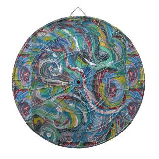 JOYFUL RIDE: Artistic Energy Waves LOWPRICE STORE Dartboard