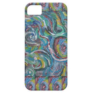 JOYFUL RIDE: Artistic Energy Waves LOWPRICE STORE iPhone SE/5/5s Case