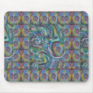 JOYFUL RIDE: Artistic Energy Waves LOWPRICE STORE Mouse Pad