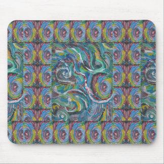 JOYFUL RIDE Artistic Energy Waves LOWPRICE STORE Mousepads
