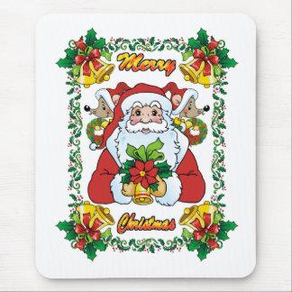 Joyful Santa Mouse Pad