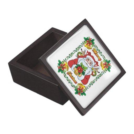 Joyful Santa Premium Gift Box