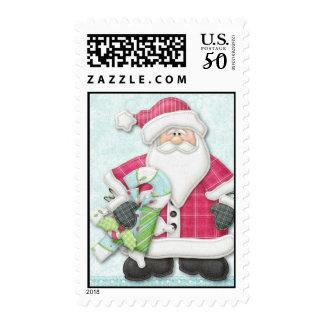 Joyful Snowman Postage