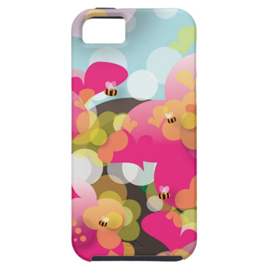Joyful Spring iPhone SE/5/5s Case