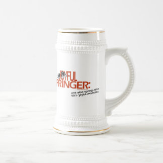 Joyful Springer Defined Beer Stein