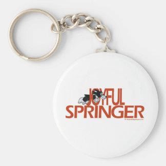 Joyful Springer Keychains