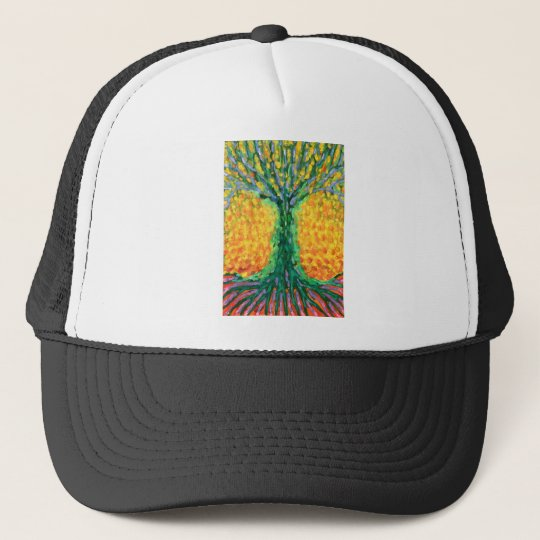 Joyful Tree Trucker Hat