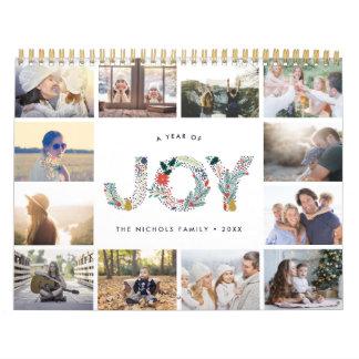 Joyful Type | 2018 Photo Calendar