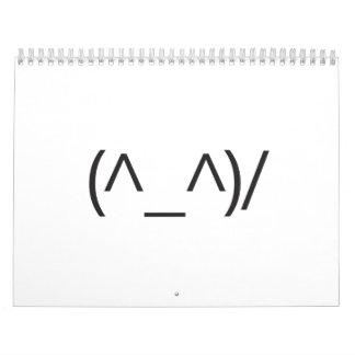 joyful wave smiles.ai wall calendar