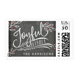 Joyful Wish | Personalized Postage