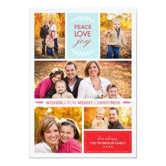Joyful Wishes Photo Holiday Card