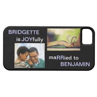 JOYfully Married - Personalized Phone Case iPhone 5 Cases