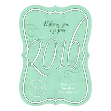Professional Business Joyous 2016 Corporate New Years Card